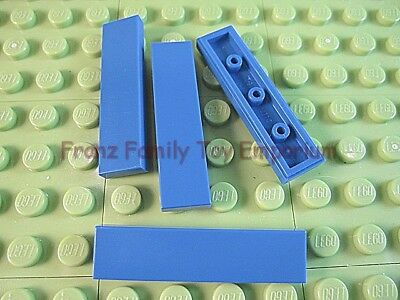 11X LEGO lot of ELEVEN 1x4 TILES in LIGHT GRAY part# 2431 finish tile~no studs