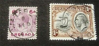 nystamps British Grenada Stamp # 103.121 Used $31