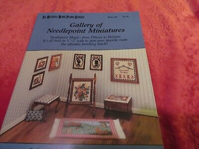 "Gallery of Needlepoint Miniatures 1""=1'"