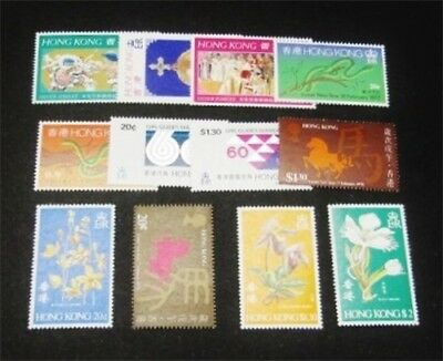 nystamps British Hong Kong Stamp # 328//346 Mint OG NH $38