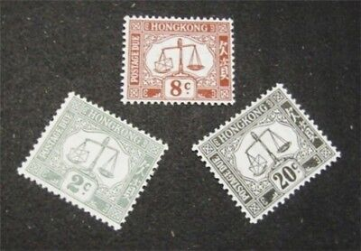 nystamps British Hong Kong Stamp # J6//J11 Mint OG NH $30