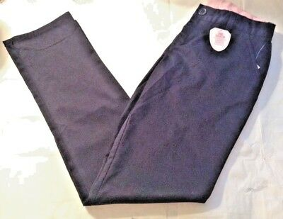 171d7881c9babb Gap Shield Kid Youth Girl Navy Blue Chino Dress Pants School Uniform Camp  14 NWT