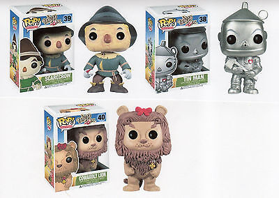 """The Wizard of Oz Dorothy ToTo /& Scarecrow 3-Pack Pack Vinyl 3.75 /"""" Figur FUNKO"""