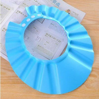 Shampoo Protective Cap For Baby Wash Hair Shield Children Bathing Shower Hat PA