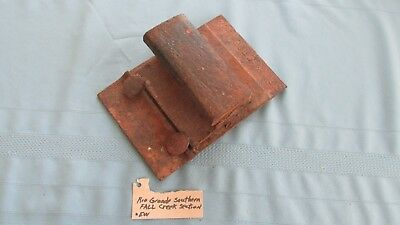 Rio Grande Southern Railroad Fall Creek Station Narrow Gauge Rail & Spiked Plate
