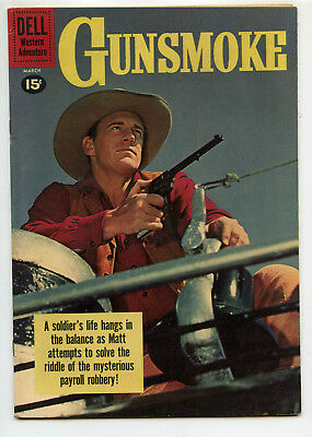 JERRY WEIST ESTATE: GUNSMOKE #25 (Dell 1961) FN condition! NO RES