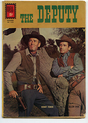 JERRY WEIST ESTATE: FOUR COLOR COMICS #1225 THE DEPUTY (Dell 1961) VG condition