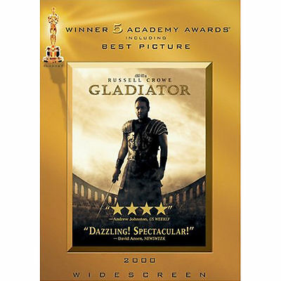 Gladiator (Widescreen Edition) DVD, Russell Crowe, Joaquin Phoenix, Connie Niels