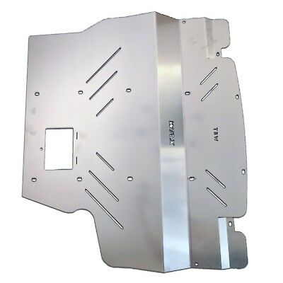 Aluminum Engine Splash Shield Under Tray Skid Plate for Subaru WRX STI 2004-2007
