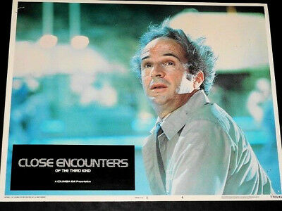 CLOSE ENCOUNTERS OF THE 3RD KIND orig 1977 Lobby Card #4 F. Truffaut