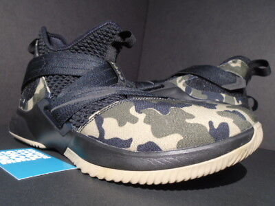 low priced c7425 9781e NIKE LEBRON SOLDIER Xii 12 Sfg Army Camo Black Hazel Rush Green Ao4054-001  10.5