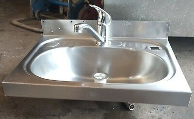 Stainless Steel Sink Hand Wall Mount Basin