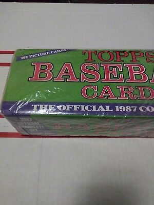 1987 Topps Baseball Complete Set! Fire Sale Complete Set Week!