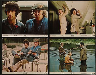 SPYS Elliott Gould Donald Sutherland  ORIGINAL 1974 8 MOVIE LOBBY CARD SET