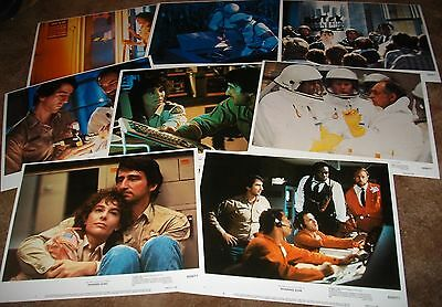 WARNING SIGN Yaphet Kotto 1985 Original 8 MOVIE LOBBY CARD SET MINT 1
