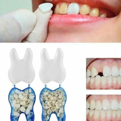 60x Temporary Crowns Posterior Anterior Molar Resin Tooth Teeth Caps Individual