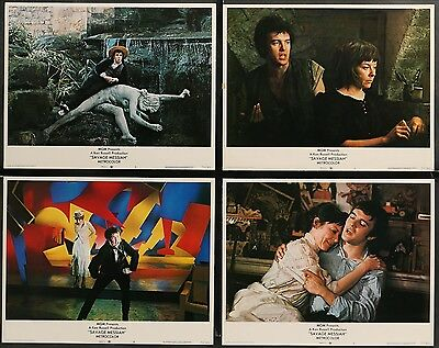 SAVAGE MESSIAH Ken Russell Helen Mirren ORIGINAL 1972 8 MOVIE LC LOBBY CARD SET