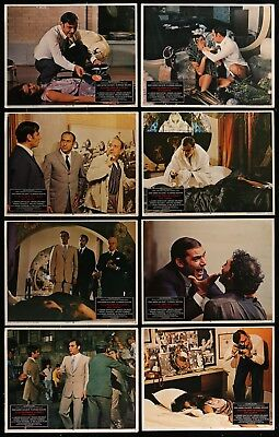 Investigation Of A Citizen - Above Suspicion 1970 8 Movie Poster Card Set