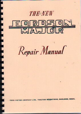 "Fordson New Major ""E1A"" Tractor Repair Manual"