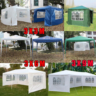 Waterfroof Outdoor Garden Gazebo Canopy Party Wedding Tent Heavy duty Marquee