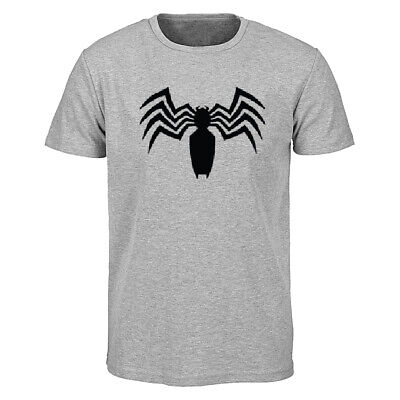 Men's Printed Spiderman T Shirt Embroidery Crew Neck Summer Gymming Sports Tees