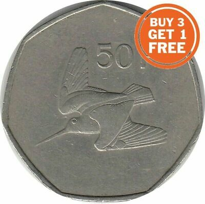 Ireland 50P Irish 50 Pingin Decimal Eire Choice Of Date 1970 To 2000