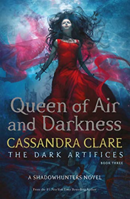 Cassandra Clare-Queen Of Air And Darkness BOOK NEW