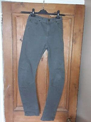 Boys Tu Casual Cotton Green Skinny Jeans Age 12 Years