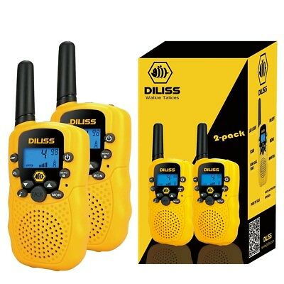 DilissToys Walkie Talkies for Kids Voice Activated Walkie Talkies for Adults and