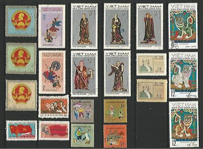 y7444 Vietnam / A Small Collection Early & Modern Umm
