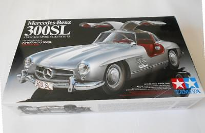 Tamiya Mercedes Benz 300SL (1/24 Scale) Model Car Kit 24338 New Boxed