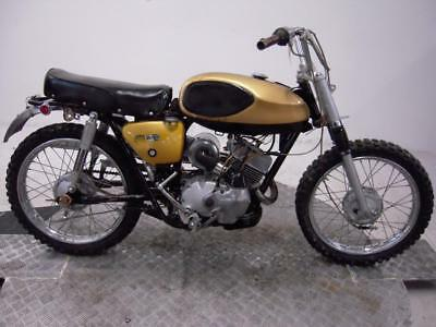 1970 Bridgestone BS100 TMX Unregistered US Import Barn Find Classic Restoration