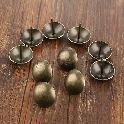 Archaistic Tacks Jewelry Box Furniture Decor Upholstery Nails Pins Round 25*25mm