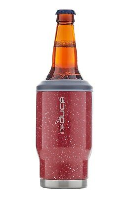 reduce Cold-1 Bottle/Can Cooler, 14 oz. (Red w/Speckles)