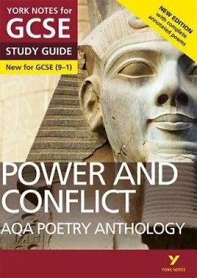 AQA Poetry Anthology - Power and Conflict: York Notes for GCSE ... 9781292230313