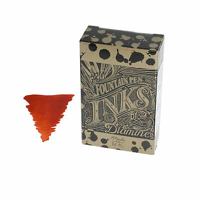 Diamine Ancient Copper Ink Cartridge For Fountain Pens 18 Per Package - DM-8086