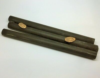 "Woodturning -  ""becol"" Old British Ebonite Pen Making Blanks"