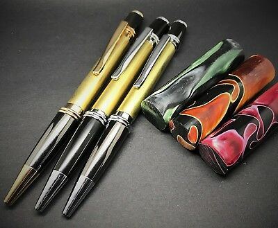 Woodturning -  Gatsby Pen Kits & Omas Material