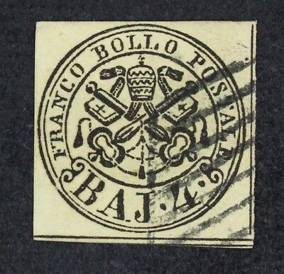 CKStamps: Italy Roman States Stamps Collection Scott#5 Used