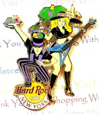 Hard Rock Cafe New York Easter Parade Pin 2004 HRC LE NEW # 22190