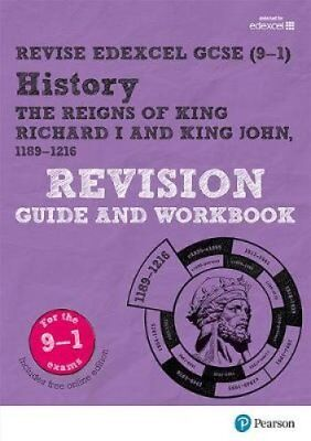 Revise Edexcel GCSE (9-1) History King Richard I and King John Revision Guide...