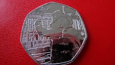 Brand New Uncirculated 2018 Paddington Bear At The Palace 50p From Sealed Bag