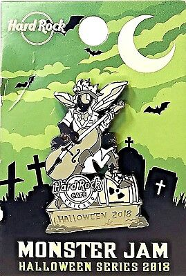 Hard Rock Cafe Chicago Pin Monster Jam Halloween Series 2018 LE NEW # 101223