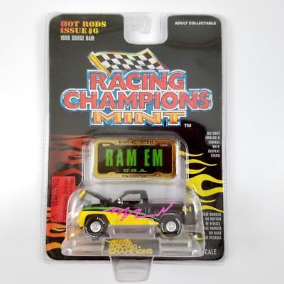 Racing Champions Mint 1996 Dodge Ram Pick Up Truck Hot Rods Issue #6 1:61 Scale