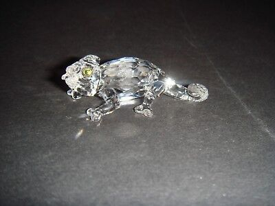 "Beautiful Swarovsi Crystal Chameleon , 2"" ( 5 C.m ) Long ,no:291 134"