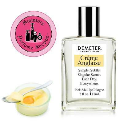 CREME ANGLAISE - NEW! DEMETER FRAGRANCE LIBRARY 15 ml Travel Mini Cologne