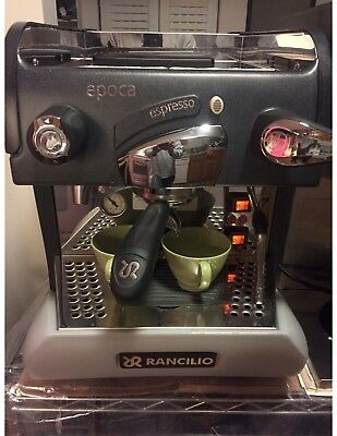 Rancilio Epoca ST Group 1 Espresso Machine, Full Coffeeshop Setup