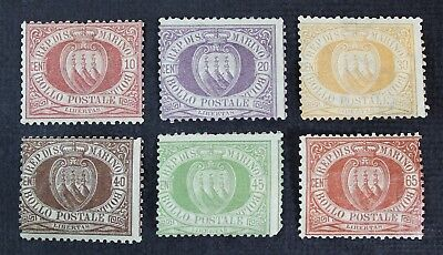 CKStamps: Italy San Marino Stamps Collection Scott#9/20 Mint H OG
