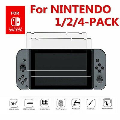 """9H + Real Premium Tempered Glass Screen Protector Film For Nintendo Switch 6.2"""""""