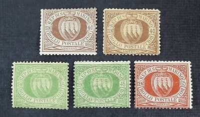 CKStamps: Italy San Marino Stamps Collection Scott#18 19 20 Mint H OG